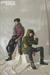 【跟著men's uno編輯學穿搭】時尚機能暖冬 Urban Outdoor