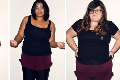 單一尺寸的服裝人人穿的下? BuzzFeed員工親自示範給你看!