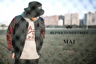 ALPHA INDUSTRIES MA-1秋冬穿搭概念