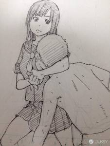 情色漫畫家畫的女子防身術 怎麼變成很享受啊...