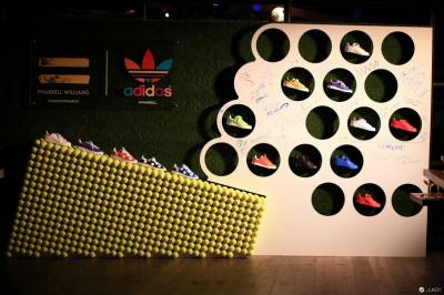 adidas Originals X PHARRELL WILLIAMS 聯名系列上市派對!