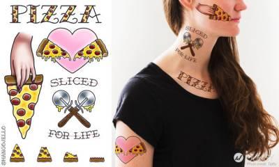 減肥時刻最令人崩潰的「Pizza風」傢俱 這下就是讓你看得到「吃」不到...
