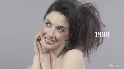 一分鐘看完女性一百年來的妝髮演進! 簡直就是教科書等級