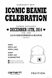 ICONIC BEANIE CELEBRATION CARHARTT WIP F W 2014 WOMEN'S COLLECTION PREVIEW