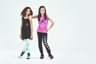 JORDAN 品牌擴大女孩童鞋尺碼範圍!