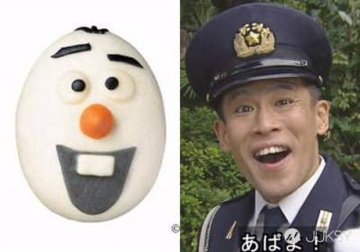 日本推出「雪寶包子」 不過好像在哪裡看過…