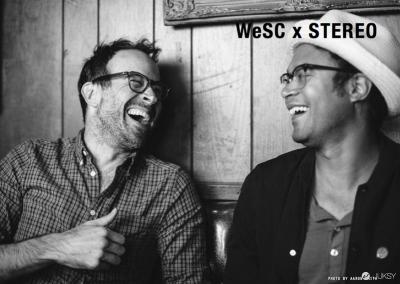 瑞典潮流品牌 WeSC X STEREO SKATEBOARDS 聯名系列