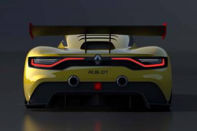 Nismo 500hp引擎搭載 Renault R.S.0.1發表