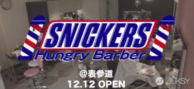 Snickers巧克力棒開設「髮型屋」 只能選擇超勁爆的樣式…右下實在太離奇!