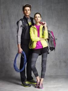 FILA OUTDOOR系列 斑斕色彩搭配輕量保暖素材 時尚 保暖 輕量兼具