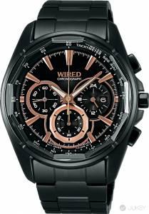 WIRED推出2014年全新錶款 撞色錶盤搭配立體切割鏡面 打造華麗視覺震撼