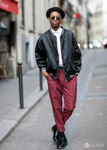 西裝外套只能配西裝褲嗎?搭配寬鬆休閒褲街頭正夯!