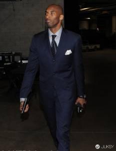一出場就是老大的風範!Kobe Bryant 最愛的西裝穿搭術