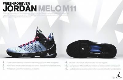 JORDAN 品牌推出 JORDAN MELO M11 X