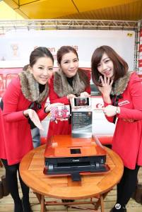 Canon印表機與燦坤攜手 PIXMA行動咖啡車全台開跑! 打卡再送熱咖啡 產品折價券大方送