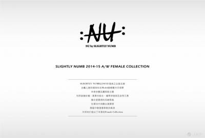NU by SLIGHTLY NUMB 2014-15 A W Collection