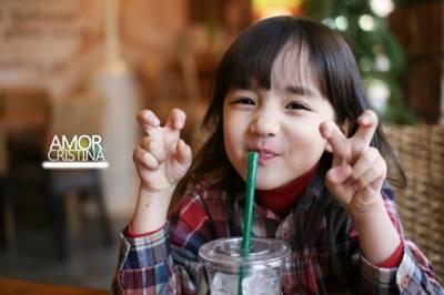 原來這就是父母最想要的「理想女兒」的樣子!韓國超美混血童星!!