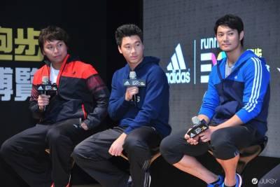 adidas Running EXPO 李振昌 羅嘉仁 詹智堯三大球星 齊聚跑步博覽會 首度同台冬訓 增強戰力!