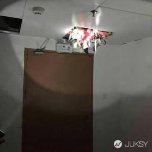 壓垮的天花板...竟然是「內衣大盜」藏匿幾千件贓物之地...