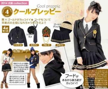 日本《小學生畢業季制服》讓所有小女孩都變成AKB風了!