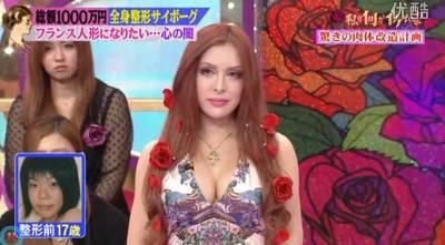 日本少女花了10萬美元變身法國洋娃娃