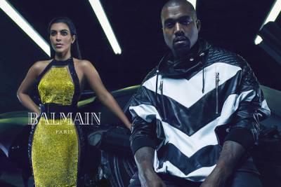 金卡達夏 Kanye West 加入 BALMAIN 大軍
