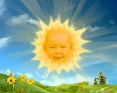 記得「天線寶寶」中的太陽角色嗎?如今「她」已經是19歲的少女...