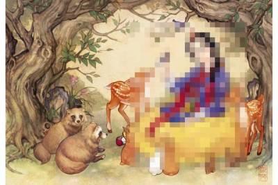 當愛麗絲 白雪公主變成泡菜妹...?超美韓服版西洋童話插圖