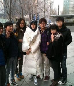 淘寶 oversize 羽絨外套如大棉被 買家評價:時尚 出門被說像王菲
