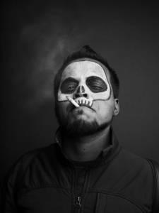 超嚇人黑白攝影,顫慄的萬聖節