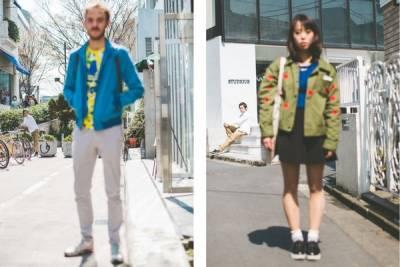 日本時尚街拍 但對焦都對錯地方...其實是藝術家作品