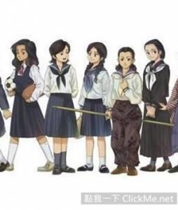 日本女高中生制服演變史,水手服讚!短裙讚!黑襪讚讚讚!