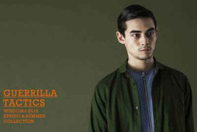 "wisdom® Apparel 2015 SS Collection ""GUERRILLA TACTICS"""