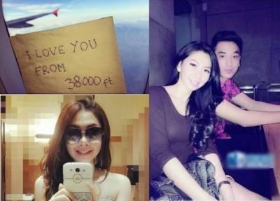 亞航20歲美貌空姐遺體尋獲!!生前留言心愛男友:在38000英呎愛你…