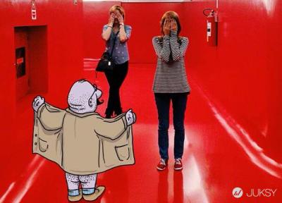 絕對惡趣味!巴西插畫家「駭」入各種有趣照片