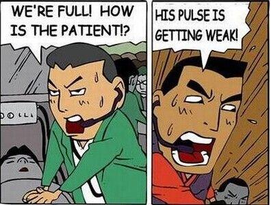喚醒重傷患者的方式,未成年請勿使用!