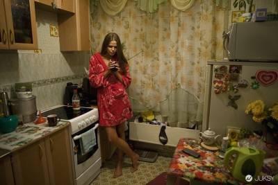超模生產地俄羅斯西伯利亞 到處都是美女...