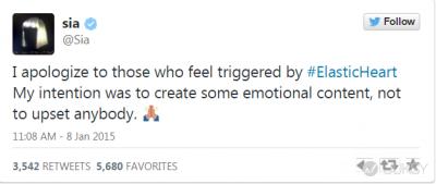 西亞李畢福肉搏 12 歲女遭批暗示「戀童癖」 Sia 為 MV 道歉滅火