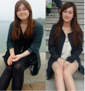再胖還是美女!台灣最美胖女人甩肉15公斤嚕