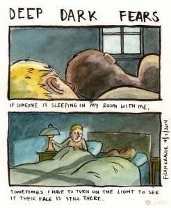 40 張最黑暗的恐怖漫畫 勾起你內心深處的恐懼與幻想