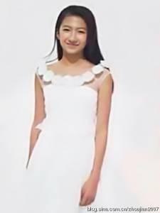 「胡軍」女兒長大成人了!!清純亮麗!美得像仙女一樣!!