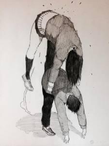 「難道這就是戀愛的感覺嗎?」 日本插畫家大野そら的戀愛暴力美學「壁を どん。」上市了