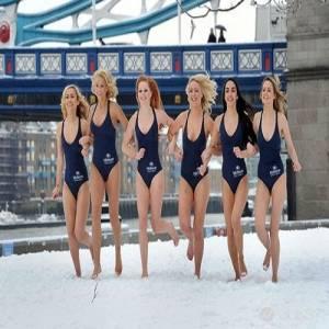 看完這些雪地辣妹照 網友:「冬天難得熱血沸騰!」