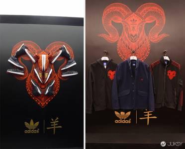 陳冠希亮相造勢,adidas Originals 在上海介紹羊年限量系列