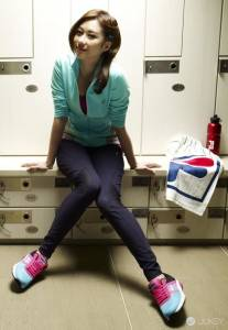 FILA公布2015品牌代言人 陽光健康楊一展V.S甜心女神張景嵐 運動中尋找熱情!
