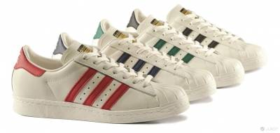 adidas Originals Superstar Vintage Deluxe Pack 街頭傳奇鞋款 經典再現