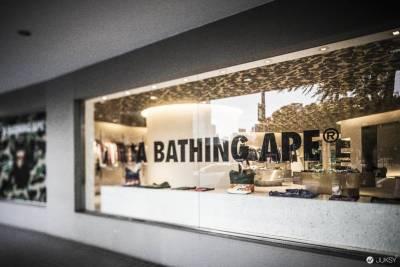 A BATHING APE®重返台北 BAPE STORE® TAIPEI 2015年1月1日 於台北仁愛圓環重新登陸