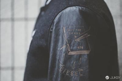牛仔皮革的繼承與創新,DIESEL 2015 早春系列 lookbook