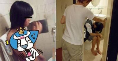 脫褲進廁所發現按摩棒 姊妹竟然與男友共浴!
