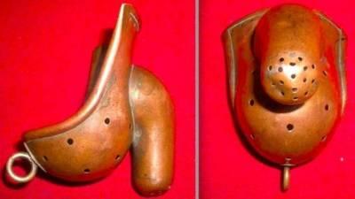 這竟是19世紀男性的忠貞褲!古人也是腦洞大開啊! 腐女:這一定是給受受的 羞